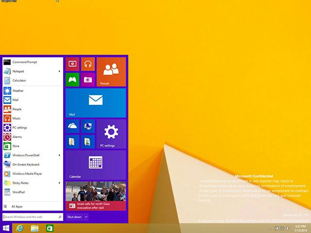 Deux nouvelles captures de Windows 9