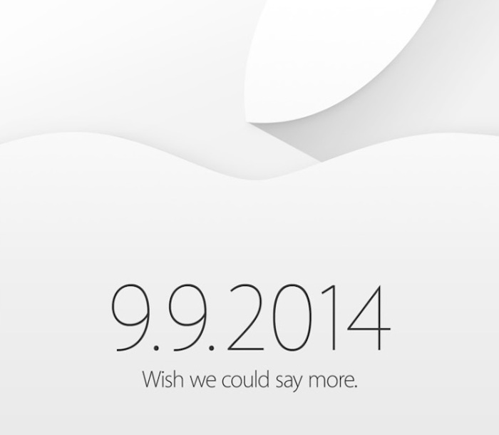 La keynote d'Apple le 9 septembre, c'est officiel