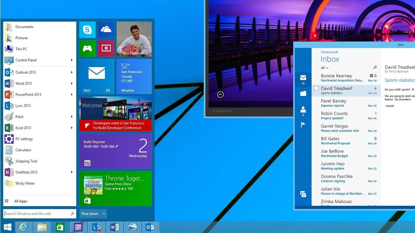 Windows 9 disponible en bêta pour tout le monde en septembre ?