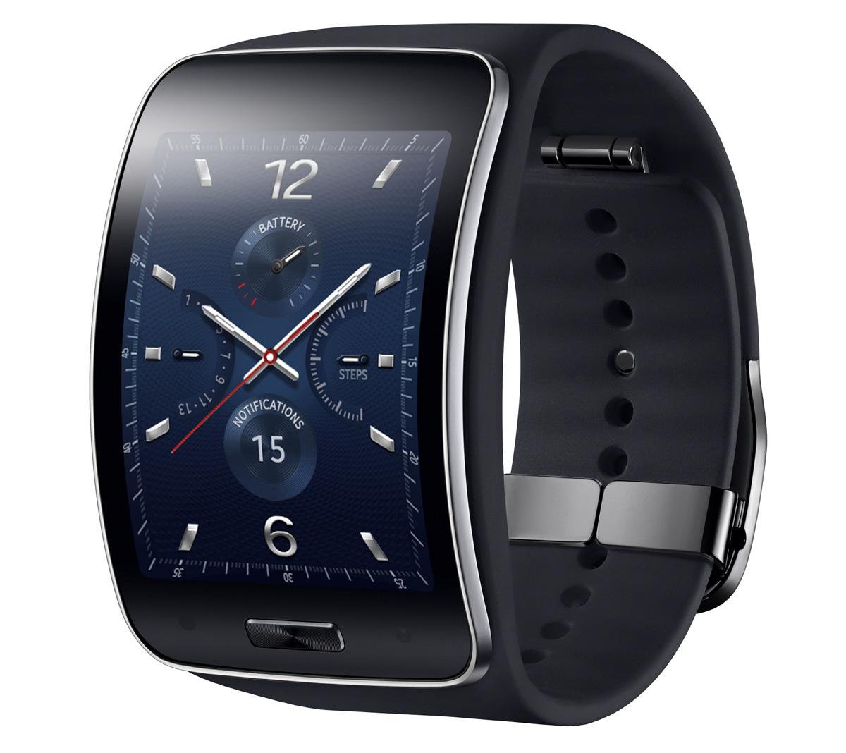 Samsung dévoile sa montre avec un écran incurvé