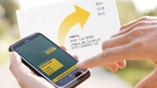 Acheter un timbre par SMS c'est possible … en Suisse