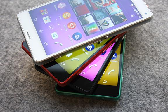 Le Xperia Z3 Compact se dévoile en photos colorées