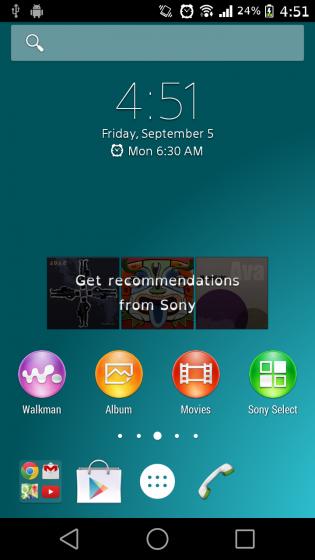 Installer le nouveau launcher du Xperia Z3 sur votre Sony Xperia
