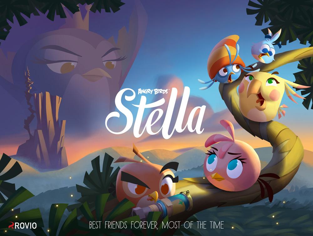 Angry Birds Stella est disponible sur iOS et Android