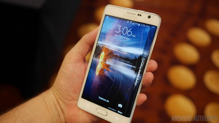 Le Galaxy Note Edge est annoncé