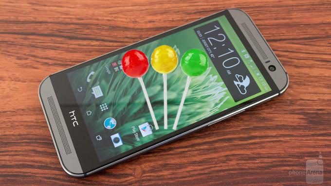 HTC One M8 sous Lollipop ça ressemble à quoi ?