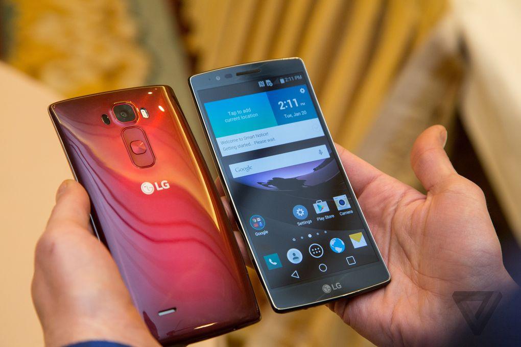 Le LG G Flex 2 est de sortie au CES