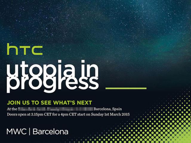 Le remplaçant du HTC One M8 annoncé le 1 mars prochain
