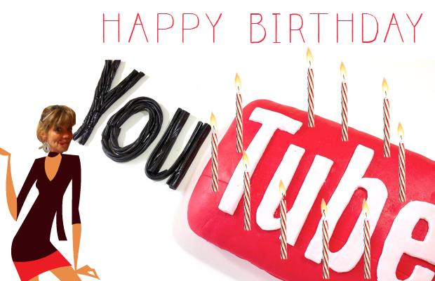 Les 10 ans de YouTube en une seule vidéo de 3 minutes