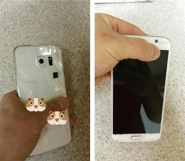 Le premier déballage du Samsung Galaxy S6