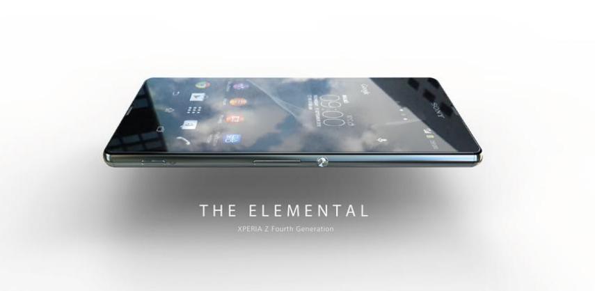 Les premières images de l'interface du Xperia Z4