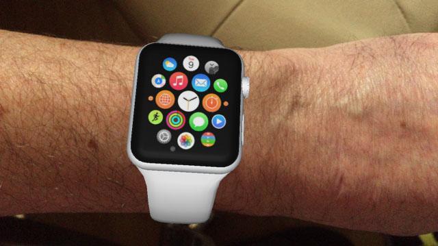 Voir ce que donne l'Apple Watch sur votre poignet en réalité augmentée