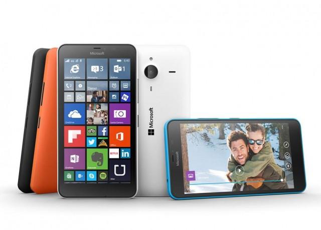 Microsoft présente les Lumia 640 et 640 XL