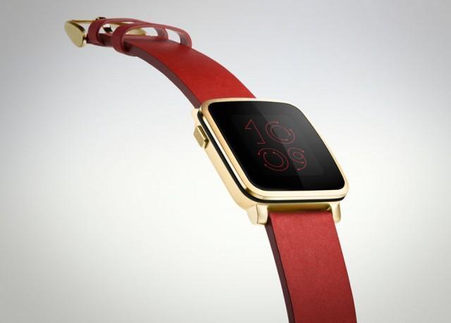 La Pebble Time Steel Edition, la version luxe de la montre