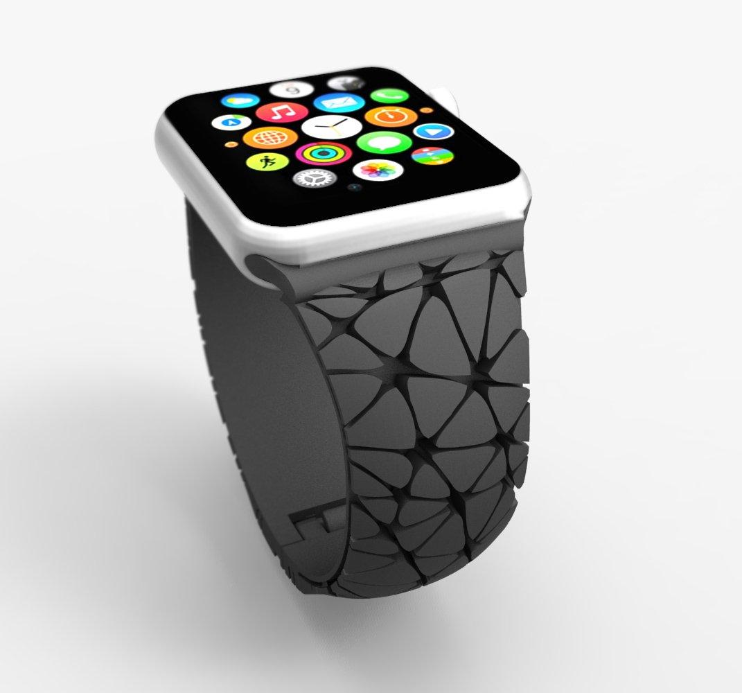 Des bracelets Freshfiber déjà prévus pour l'Apple Watch