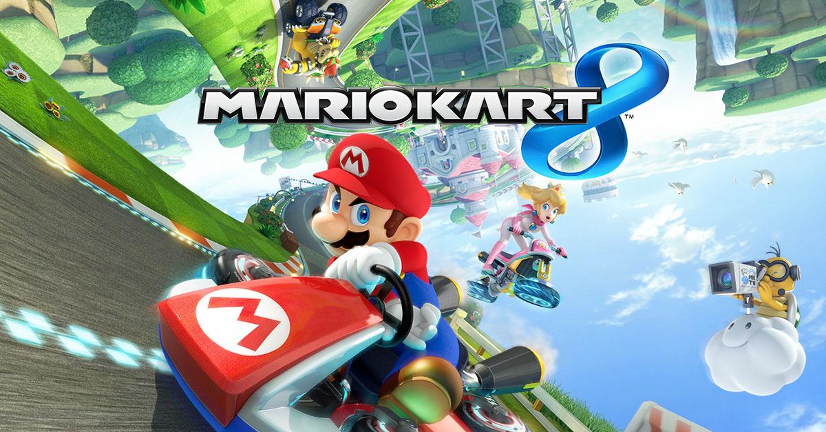Des karts de 200cc sur Mario Kart 8 : ça va décoller