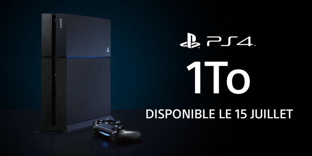 Une PS4 light et une version 1 To arrivent