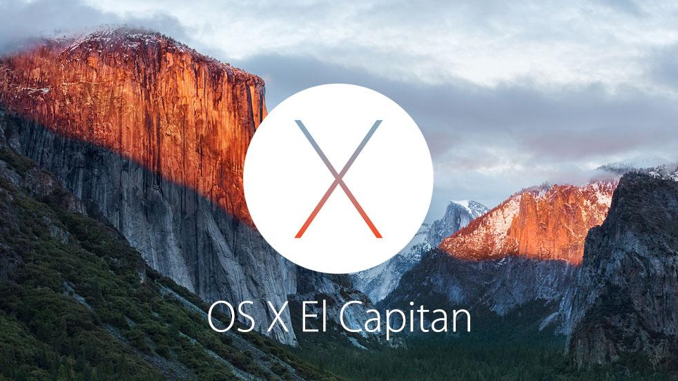 Apple a présenté son El Capitan