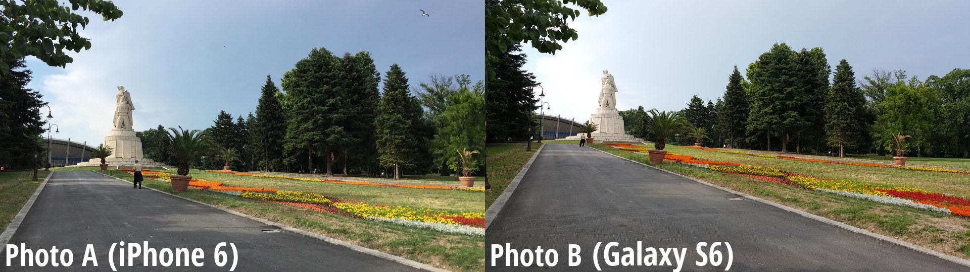 Un nouveau comparatif photo inutile entre le Galaxy S6 et l'iPhone 6