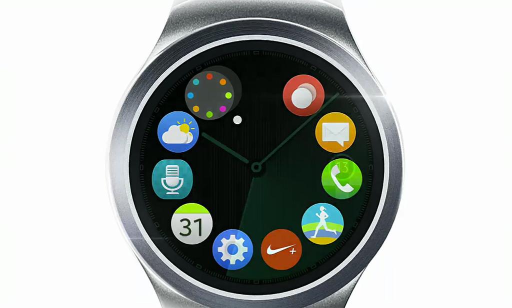 Samsung tease sa nouvelle montre la Gear S2