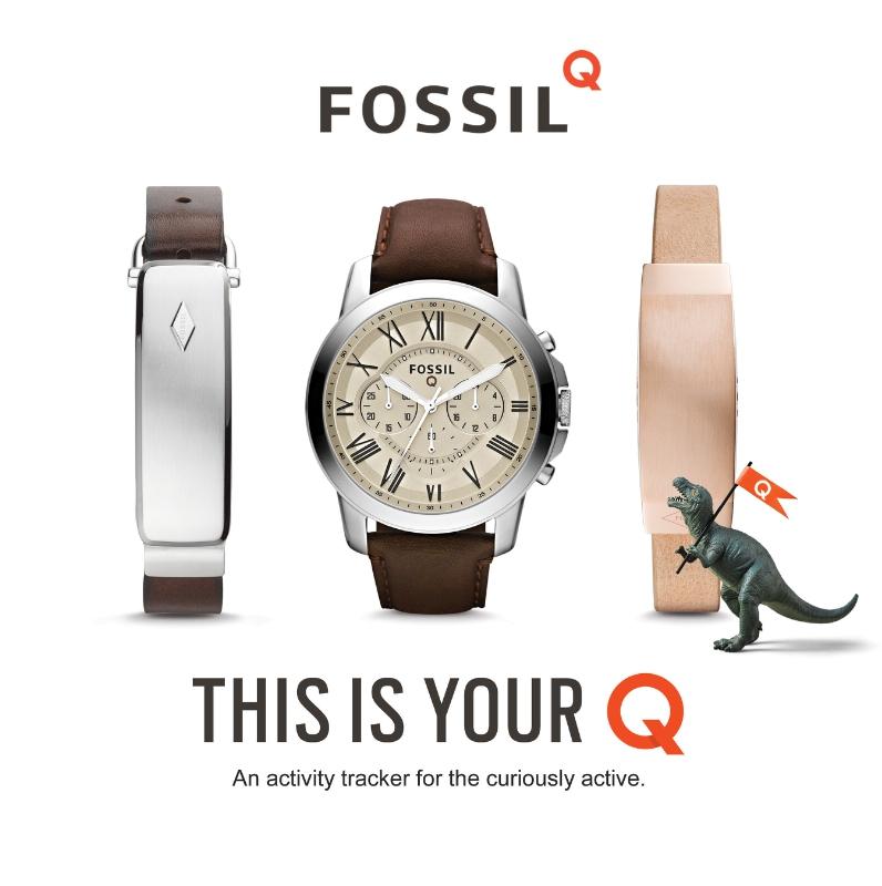 Fossil dévoile sa ligne connectée Q dont une montre sous Android Wear