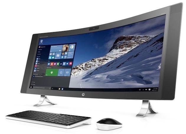HP lance un PC avec un écran courbe de 34 pouces