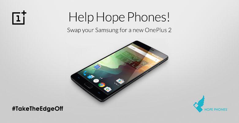 OnePlus vous échange votre Galaxy S6 gratuitement avec leur Two!