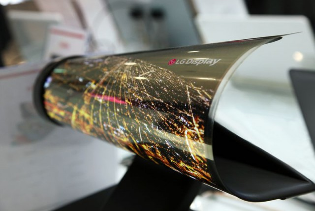 [CES] LG présente un prototype d'écran flexible de 18 pouces