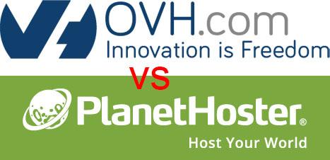 Mutualisé Planethoster ou VPS Cloud OVH: quel hébergement choisir?
