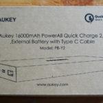 Test de la batterie Aukey de 16 000 mAh