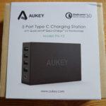 Test du chargeur 5 ports USB Aukey