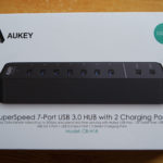 Test du Hub USB avec 2 ports de charge Aukey